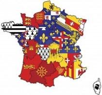6791771-ancienne-carte-de-france-avec-des-drapeaux-des-divisions-administratives