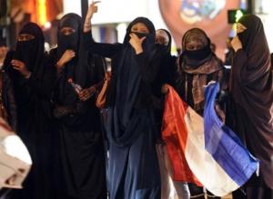 Femmes voilées élection Hollande