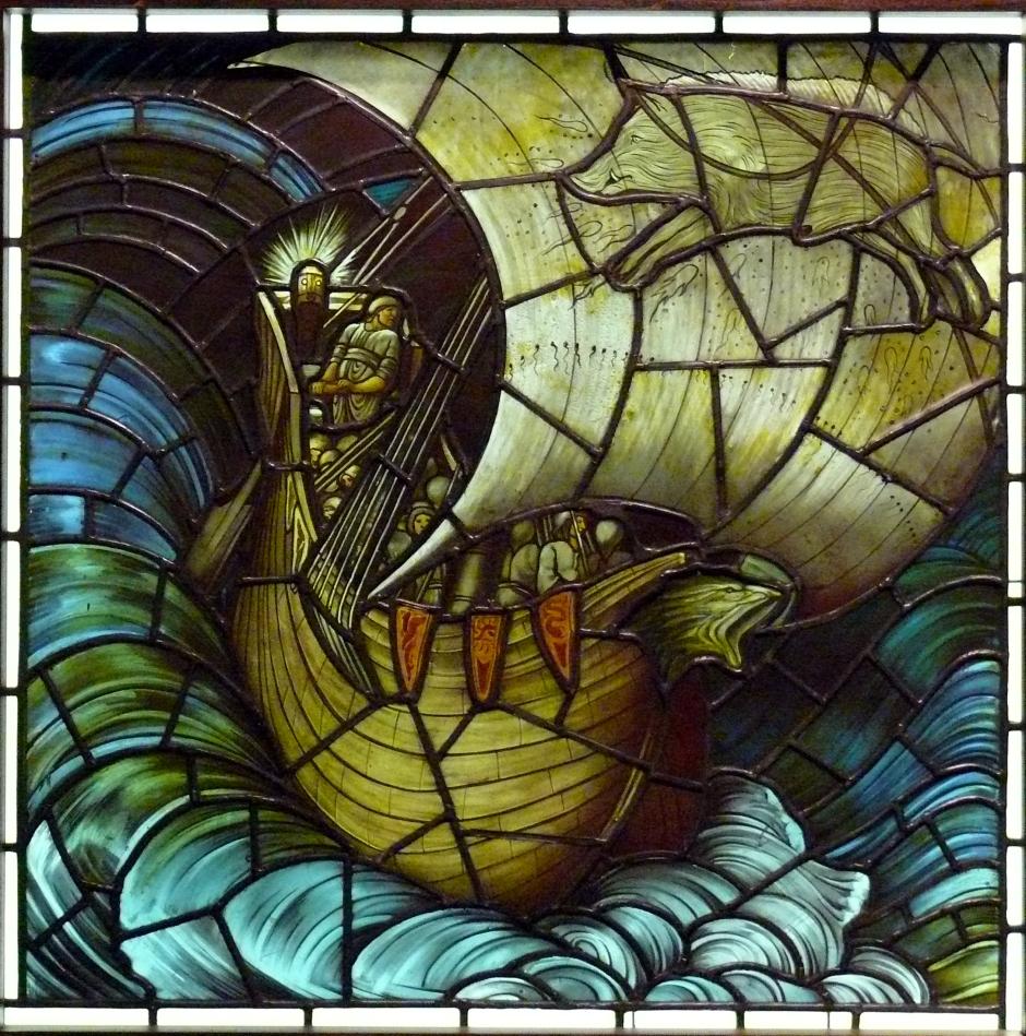 Burne Jones - Vaisseau Viking