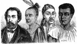 Les races vues autrefois