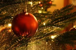 Boule Noël sapin