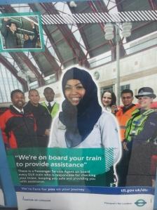 Publicité Londres transports