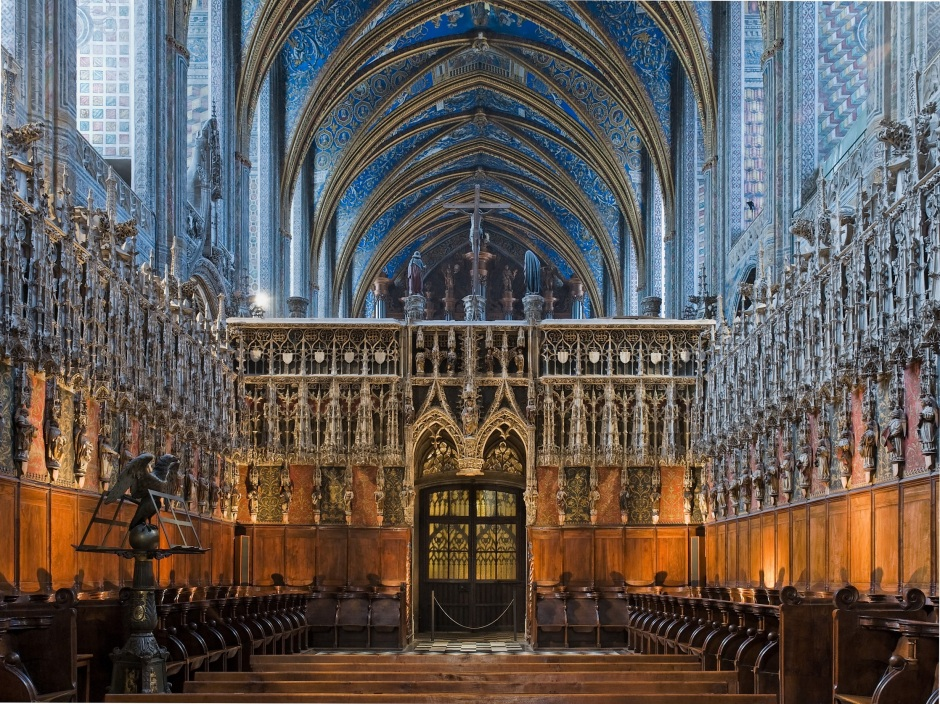Albi cathedrale cheur 2