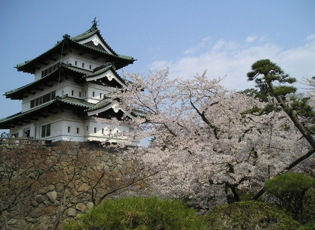 Hirosaki château Japon