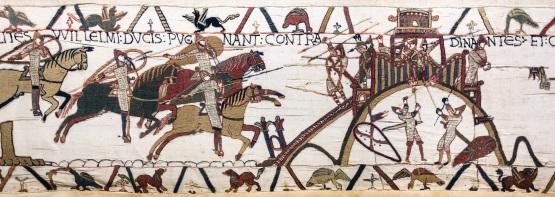 Tapisserie de Bayeux - Scène 19 : le siège de Dinan
