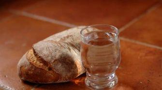pain et eau