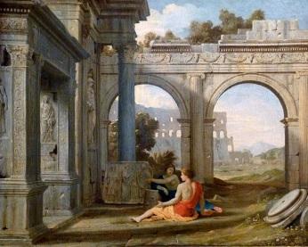 Jean Lemaire Paysage de ruines - 1639
