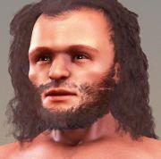 Reconstitution visage cro-magnon