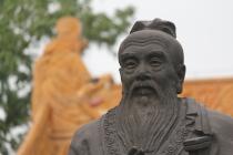 Confucius - sculpture à Nanjing