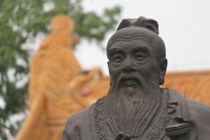 Confucius - sculpture à Nankin