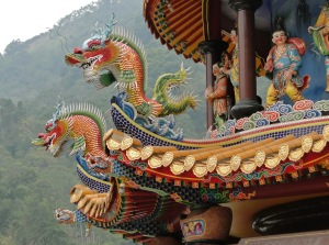 Temple de Chukou - Dragons