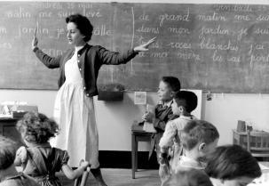 Ecole années 50