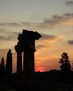 Temple crépuscule
