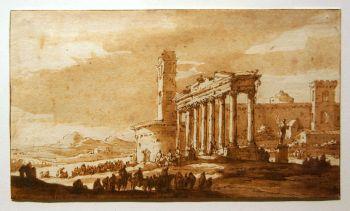 Van der Ulft - Antieke ruïnes