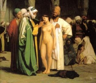 Esclave blanche - musulmans