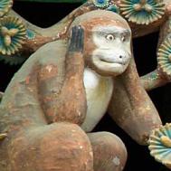 Trois singes - entendre