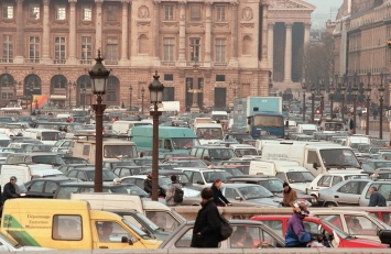 Paris embouteillage