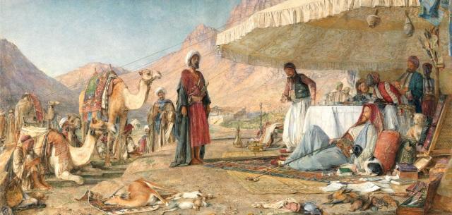John Frederick Lewis 1842 Sinai